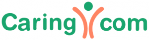 logo for caring dot com